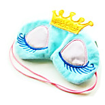 Lovely Warm Crown Long Eyelashes Cartoon Eye Mask 1