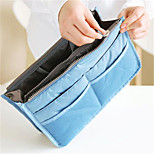 Fashion Makeup Bag WasCosmetic Bag Wash Bag Multifunctional Double Zipper Storage Bags Finishing