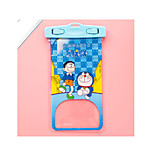 Makeup Storage Cosmetic Bag Plastic Cartoon Others 15*10 Multi-color