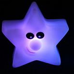 stella a cinque punte gradienti notturna