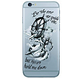 Per Custodia iPhone 6 / Custodia iPhone 6 Plus Fantasia/disegno Custodia Custodia posteriore Custodia Ancora Morbido TPU AppleiPhone 6s