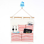 Four Pockets Behind The Door Home Furnishing Storage Bag