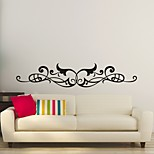 AYA™ DIY Wall Stickers Wall Decals,  Flower Rattan Type PVC Panel Wall Stickers 24*120cm