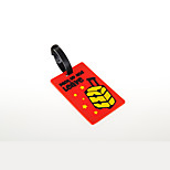 Travel Luggage Tag Luggage Accessory Plastic Blue / Red KUSHUN™ / BirdRoom®