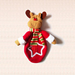 1pc Cartoon Reindeer Christmas Candy Bag for Home Xmas Party Decoration Kids Gift