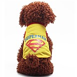 Fashion Summer Breathable Cotton  Dog Clothes Sport Style Vest T-shirt