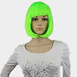 Heat Resistant Anime Akagami no Shirayukihime Shirayuki Short Green Full Lace Costume Cosplay Wig  Cap  Track
