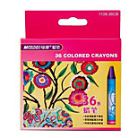 Marco Graffiti Crayons Children 36 Color Crayons Nontoxic Safety