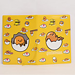 Cartoon Egg Style Passport Holder