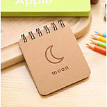 South Korea Stationery Weather Forecast Series Coil Notebook Notepad Portable Book