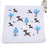 Cotton Double Gauze Children Towel Small Bamboo Fiber Face Towel (32 * 32)