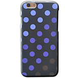 Dot Pattern Oil Level of Concave and Convex Printing Reliefs Case For iPhone for iPhone SE 5 5S 6 6S 6 Plus 6S Plus
