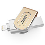 EAGET I80 64G USB3.0/Lightning OTG Mini Flash Drive U Disk for iPhones, iPads, Mac/PCs