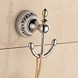Robe Hook / Chrome / Wall Mounted /13*10*8cm /Zinc Alloy /Contemporary /13cm 10cm 0.29