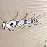 Robe Hook / Chrome / Wall Mounted /22*12*6cm /Stainless Steel /Contemporary /22cm 12cm 0.45