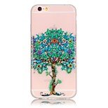 TPU material The New Spend More Trees Pattern Luminous Phone Case for  iPhone 6s Plus / 6 Plus/6S/6/SE / 5s / 5