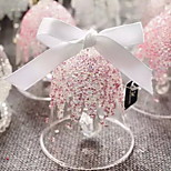 Christmas Edition 2015 Bell Ornaments Snowflake Crystal Wind Chimes Car Pendant Car Ornaments Crystal Ball Fairy Tale