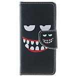 Smiling Face Pattern PU Leather Full Body Case with Stand and Card Slot for iPhone 6s Plus/6 Plus/6s/6