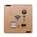 86 Multifunctional Wireless Router  Wall Switch Socket Computer Intelligent Wireless Wifi Usb(Random Colors)