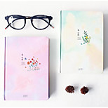 Korea Stationery -A5 Spend Time In This Micro Color Hardcover Book 380G