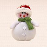 1pc natal decoração da árvore de boneco de neve lenço verde suprimentos pendurado da árvore pingente natal festa