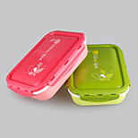 Eco Friendly Cute Lunch Box Kid Bento Box for School