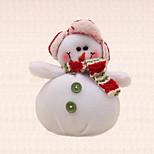 1pc New Year Green Button Snowman Pendant Christmas Tree Decoration Xmas Unique Celebrate Gift