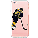 Transparent/Pattern Cartoon Sports PC Hard Case Cover For Apple iPhone 6s Plus/6 Plus/iPhone 6s/6/iPhone SE/5s/5