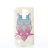 Owl Pattern TPU Material Phone Case for LG K10/K7