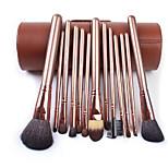 Colour Makeup Makeup Tools 13Pcs Barrel Packaging Makeup Brush Sets Wool Horse Hair