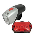 Bike Light,Bike Lights-1 Mode 50 Lumens Easy to Carry Otherx2 Battery Cycling/Bike Black Bike Other Other