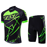 Sports Bike/Cycling Jersey + Shorts / Clothing Sets/Suits Men's / Unisex Short SleeveBreathable / Quick Dry /