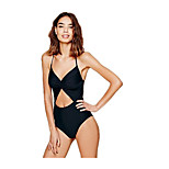 Piece Swimsuit Sexy Spell Color Swimwear BIKINI