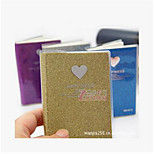 2278-18 South Korea Stationery Shiny Love Couple Notebook Notepad Notes This Mood Diary 70G
