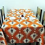 Nordic Fashion Simple Geometric Linen Table Cloth Side Table Tablecloths (140 * 140cm)