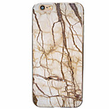 Para Funda iPhone 6 / Funda iPhone 6 Plus Ultrafina Funda Cubierta Trasera Funda Mármol Suave TPU AppleiPhone 6s Plus/6 Plus / iPhone
