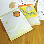 Lovely Stationery Memo Gezhi Cartoon Book With Eraser School Supplies For Children Of The Nursery