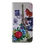 Cuerpo Completo billetera / Soporte de Tarjeta / con el soporte Other Cuero Sintético Duro Painted Cubierta del caso para AppleiPhone 6s