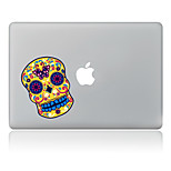 Person Cranial Head Decorative Skin Sticker for MacBook Air/Pro/Pro with Retina