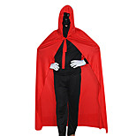 Costumes Ghost / Zombie / Vampires Halloween / Carnival / Oktoberfest Red / Black Vintage Terylene Shawl