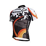 The Existing Paladin Summer Male  Short Sleeve Cycling Jerseys 100% Polyester DX653 Sports Field