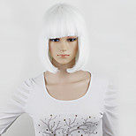 Short BOBO Wigs 12inch Light Blue Straight Synthetic Cosply Party Wigs Five Colors Fashin Hair Style Anime Hair