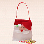 1pc Single-Shoulder Outdoor Christmas Candy Bag Decoration Santa Claus Ornaments Home Party Supplies