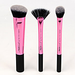 3 Makeup Brush Set Eyebrow Brush
