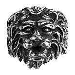 British Style Luxury Brand Men Rings 316L Stainless Steel Jewelry Rings For Women Lion House Lannister Game Of Thrones