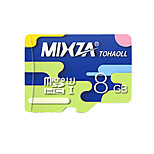 MIXZA 8 GB Class 10 Micro SD  TF Flash Memory Card High Speed Genuine Read Speed: 80MB/s Waterproof