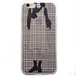 Headless Woman Frosted Pattern TPU Soft Case Phone Case for iPhone 6/6S/6Plus/6SPlus