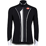 Sports Bike/Cycling Tops Men's Long Sleeve Breathable / Wearable / Windproof / Ultra Light Fabric