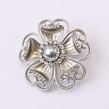 European and American fashion zircon Pearl Brooch Series 027