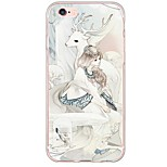 Fairy Pattern Soft Ultra-thin TPU Back Cover For iPhone 6s Plus/6 Plus/6s/6/5s/5